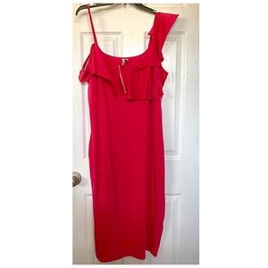 ASOS pink body con dress 16 NWT